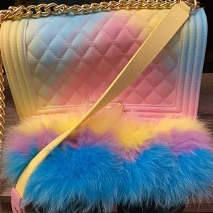 Purse with slides